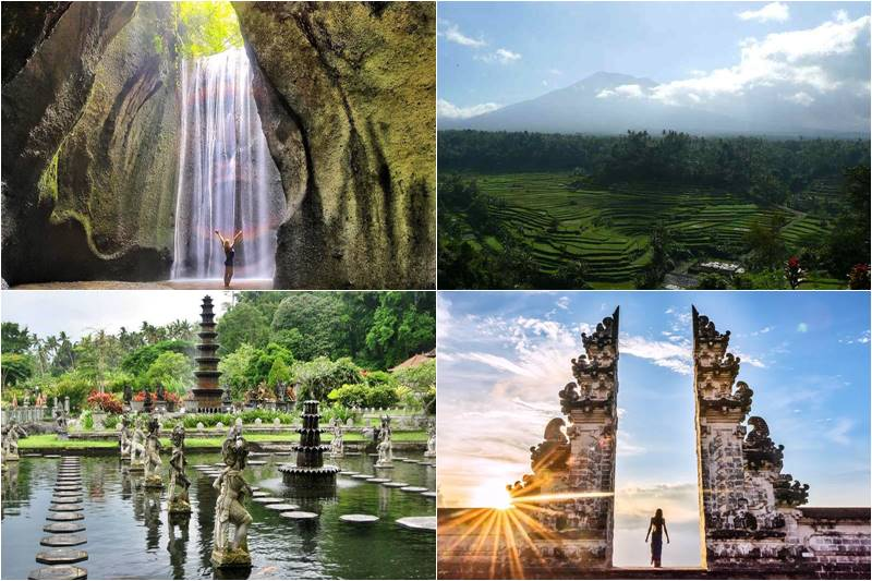 Bali Hidden Cepung Waterfall Gate Of Heaven Tour 2019