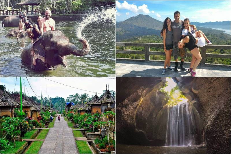 Bali Bathing Elephant and Cepung Waterfall Tour 9