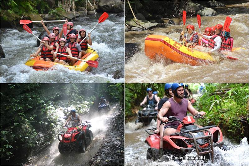 Bali Rafting and Atv Ride Tour 3