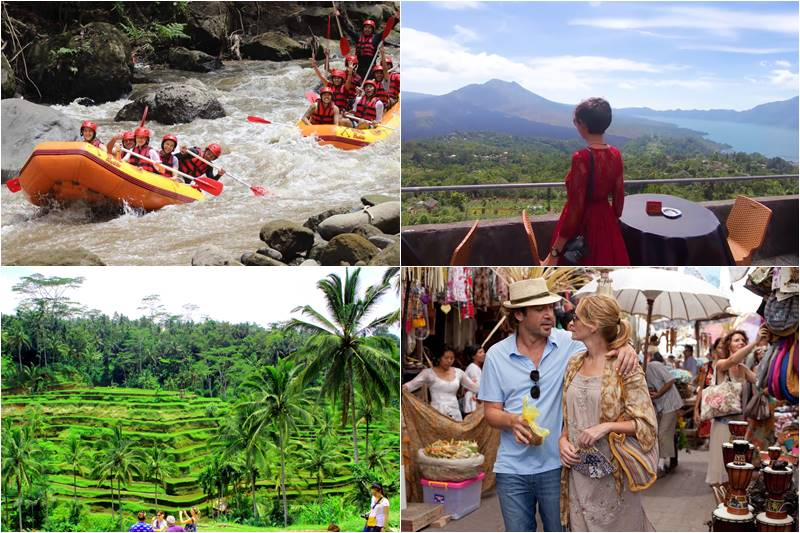 Bali Rafting and Volcano Ubud Tour 2