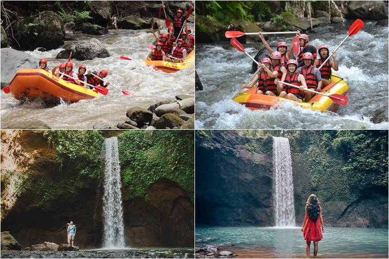 Bali Rafting and Tibumana Waterfall Tour 1