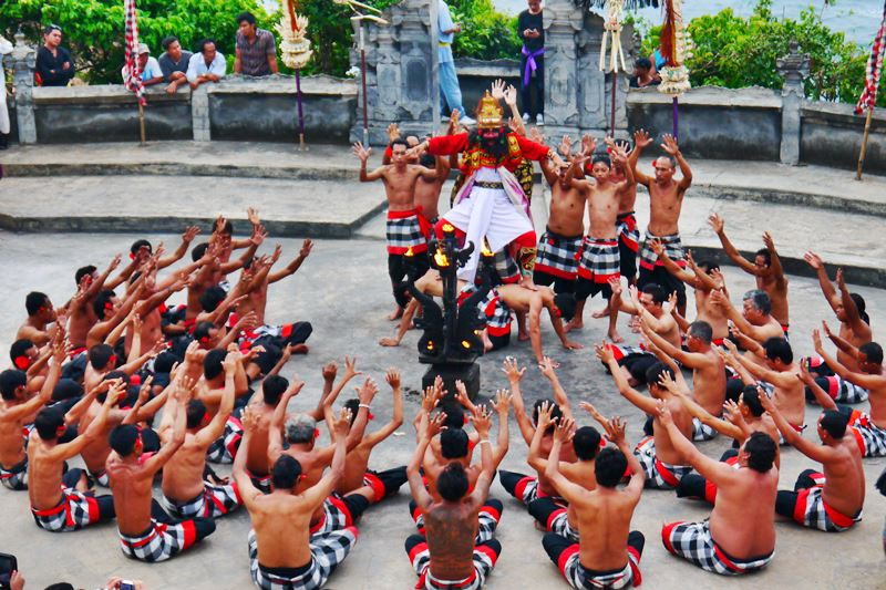 The Kecak and Fire Dance 1