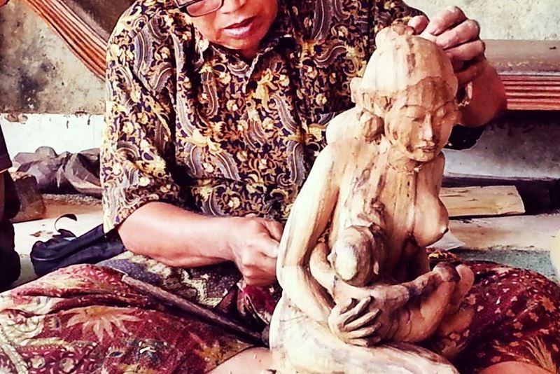 Mas Village: Bali Wood Carvings 3
