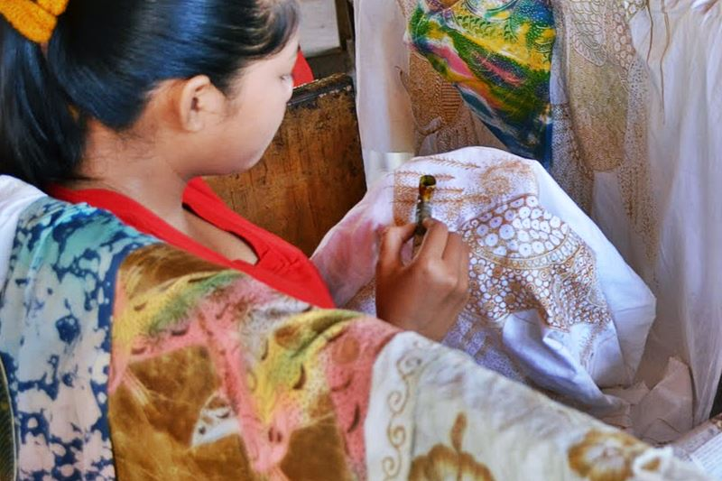 Tohpati Village: Batik Art Works 1